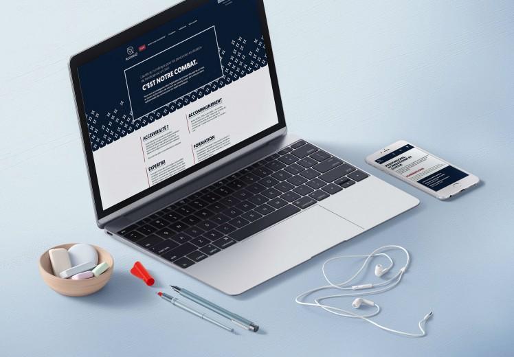 Découvrir le projet Site internet Access42