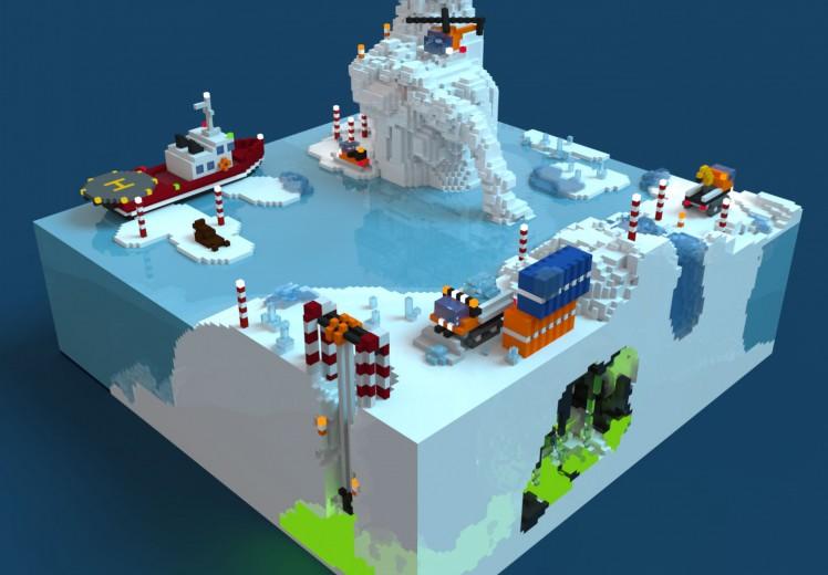 Découvrir le projet Forage Arctique